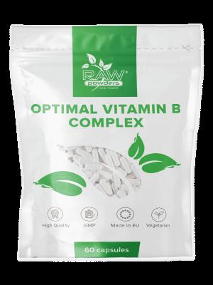 Complejo vitamínico B óptimo 60 cápsulas