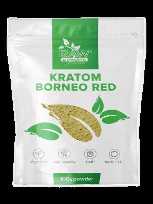 Kratom Rojo de Borneo polvo 100 gramos
