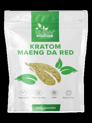 Kratom Maeng Da Rojo polvo 100 gramos